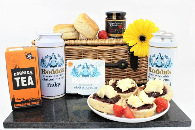 Country Farm Cornish Cream Tea Hamper
