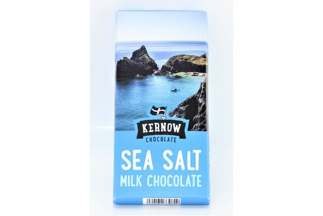 Kernow Sea Salt Milk Chocolate