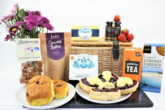 Luxury Cornish Cream Tea Hamper
