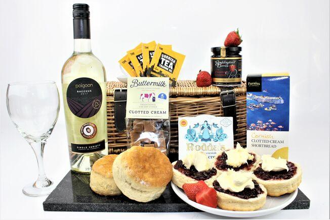 Special Cream Tea Valentine's Day Cornish Hamper
