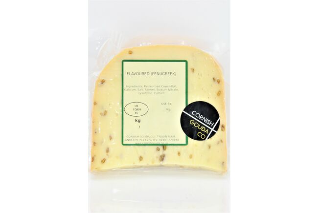 Cornish Gouda with Fenugreek