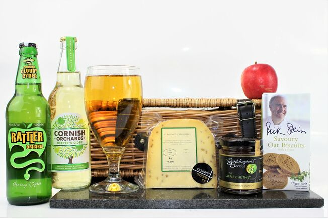 Traditional Cornish Gouda Cheese & Cider Treat