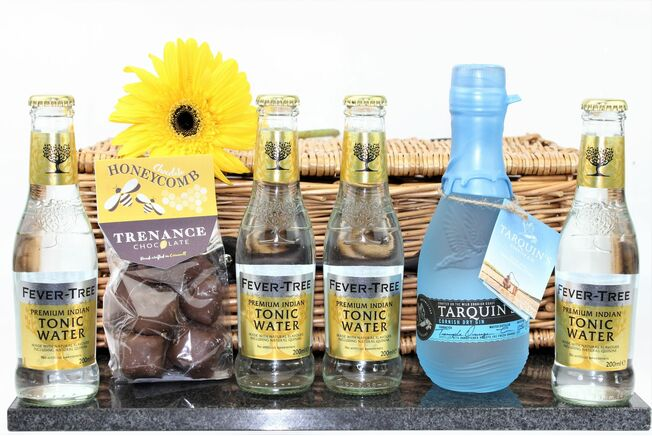 Classic Cornish Gin & Honeycomb Hamper