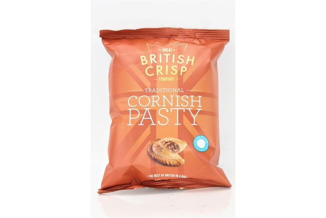 Traditional Cornish Pasty Crisps