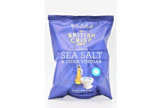 Cornish Sea Salt & Cider Vinegar Crisps
