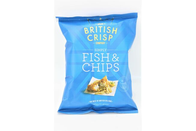 Simply Fish & Chips Crisps