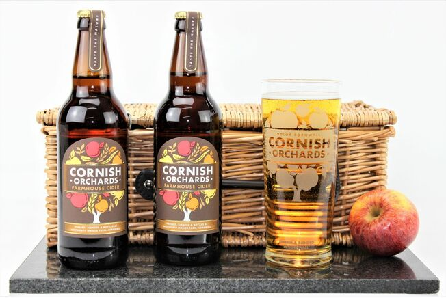 Traditional Cornish Orchards Cider & Pint Glass Gift Set