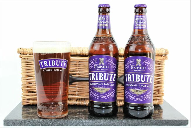 St Austell Brewery Tribute & Branded Pint Glass Gift Set