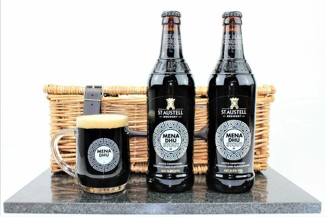 St Austell Brewery Mena Dhu & Pint Tankard Gift Set