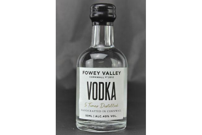Fowey Valley Vodka Miniature