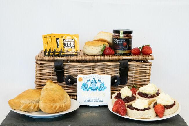 'Taste Of Cornwall' Gluten Free Pasty Hamper