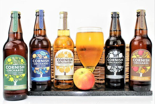 Cornish Orchards '5 Ciders' Hamper