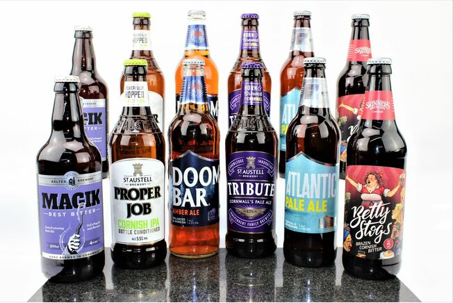 12 Cracking Cornish Beers Hamper