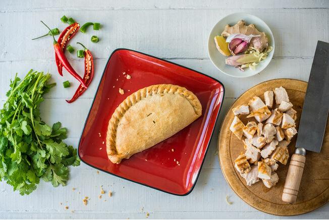 Cornish Premier Red Thai Chicken Pasties (Box of 12)