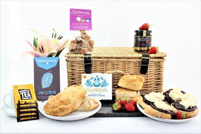 The Gluten Free 'Ultimate Taste Of Cornwall' Hamper