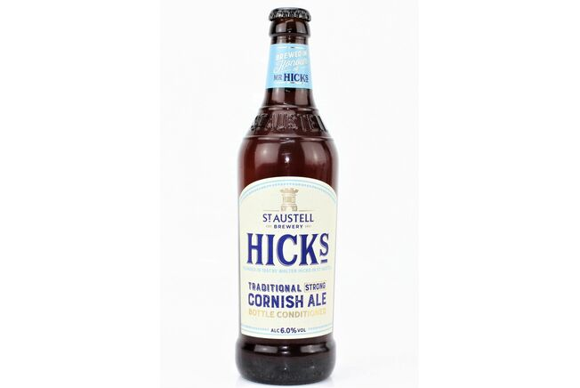 St Austell Brewery Hicks Cornish Ale (ABV 5%)