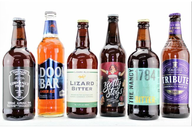 'Six Of The Best' A Knockout Cornish Beer Gift Box