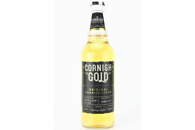 Healey's Cornish Gold Cyder (ABV 4.5%)