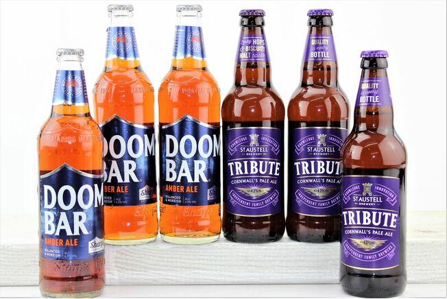 'Purple & Blue' Cornish Beer Gift Box