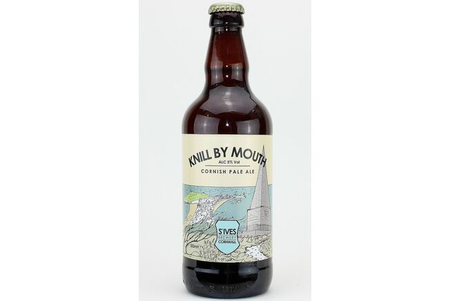 St Ives Brewery Knill By Mouth Pale Ale (ABV 5%)