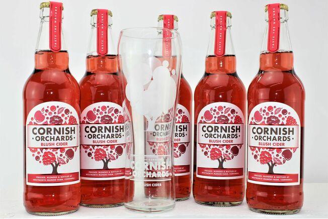 Cornish Orchards Blush Cider Taster Gift Box
