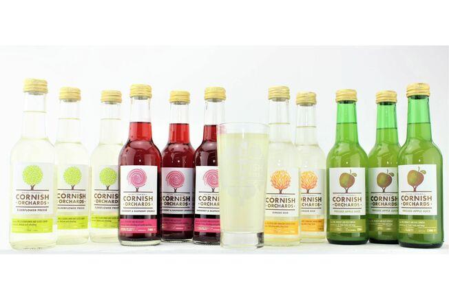 Cornish Orchards Soft Drinks Luxury Cornish Hamper