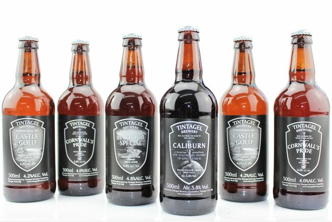 'Beers From The Round Table' Tintagel Brewery Gift Box