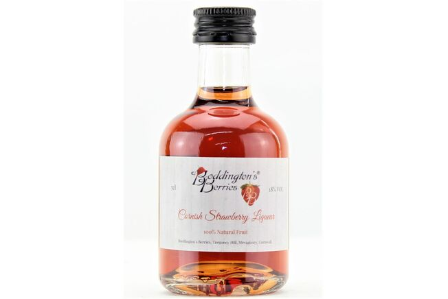 Boddington's Cornish Strawberry Liqueur Miniature