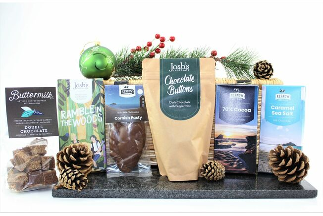 Cornish Christmas Chocolate Box