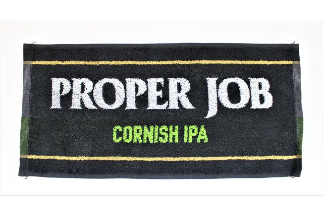 St Austell Brewery Proper Job Bar Towel