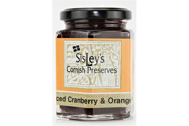 Sisley's Spiced Cranberry & Orange Sauce
