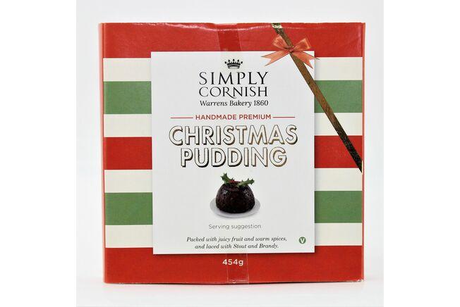 Simply Cornish Christmas Pudding