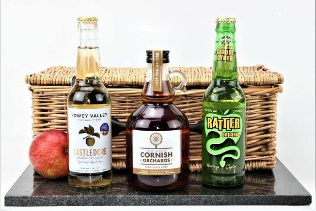 Classic Cornish Cider Treats Hamper